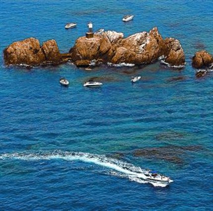 La reserva marina de les illes Formigues