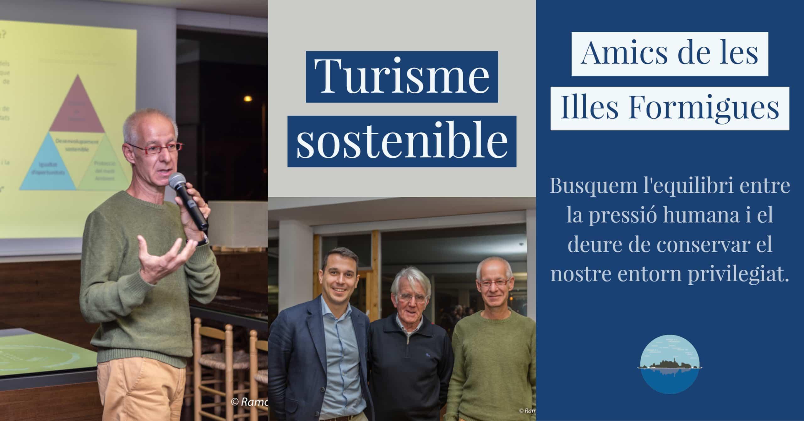 Taula rodona sobre Turisme Sostenible.
