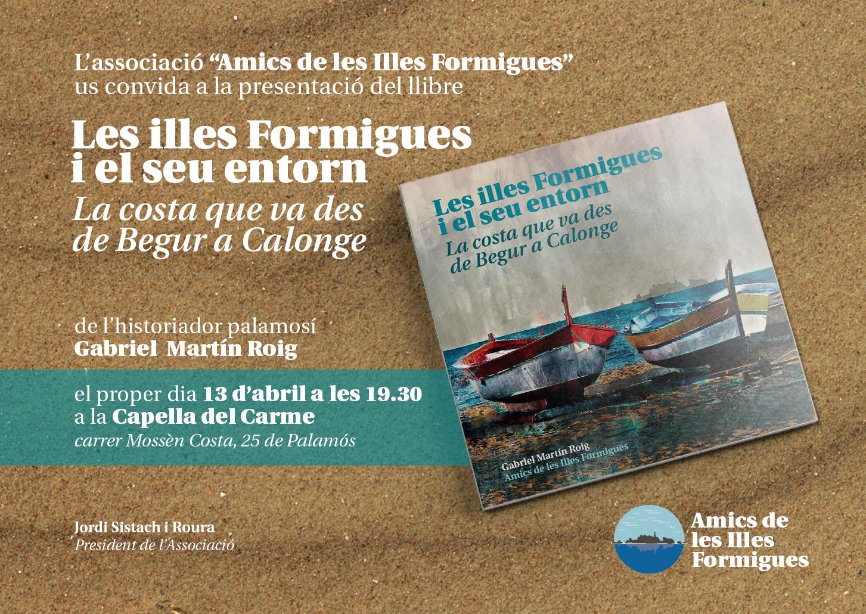 """""""Amics de les Illes Formigues"""" presenta el seu llibre"""
