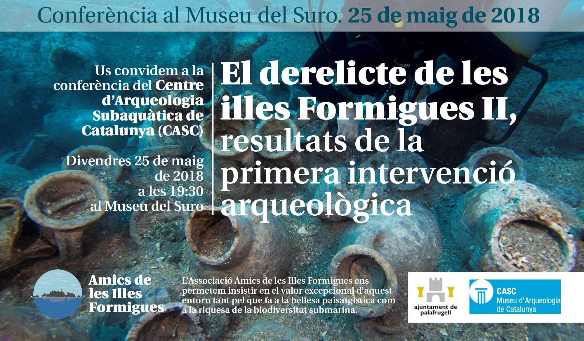 El derelicte de les Illes Formigues II, resultats de la primera intervenció arqueològica