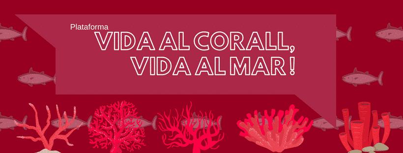 Manifest entitats de la societat civil per sol·licitar la protecció del corall vermell