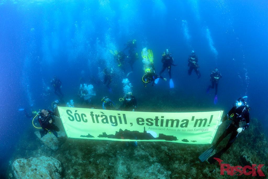 Segona Manifestació Amics de les Illes Formigues